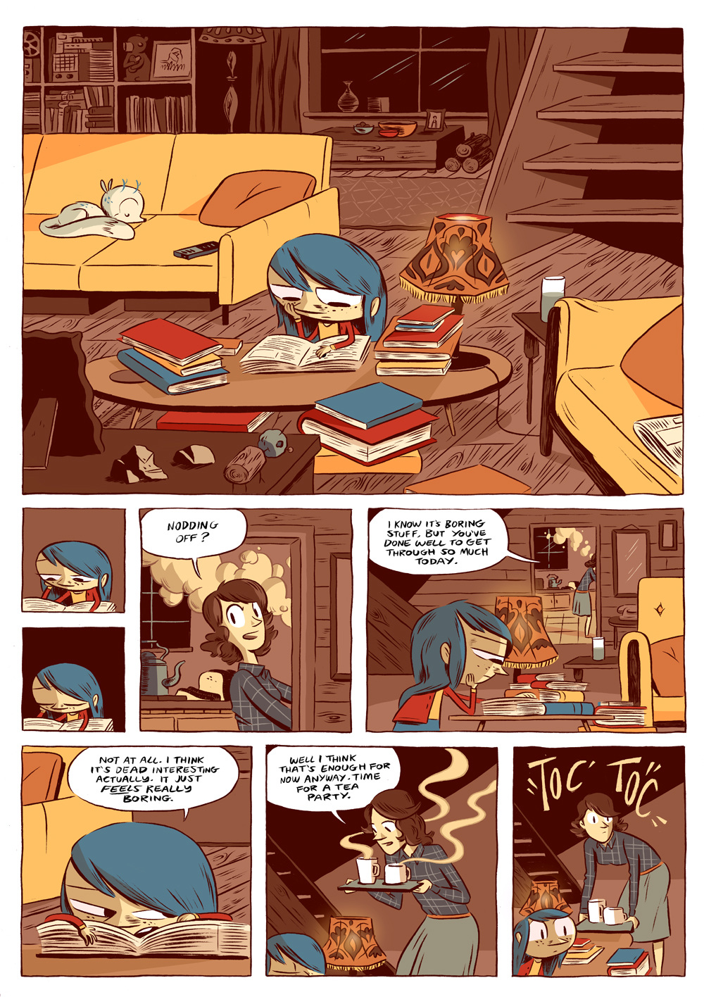 Hilda and The Midnight Giant - Luke Pearson - Illustration ... The Selection Series In Order