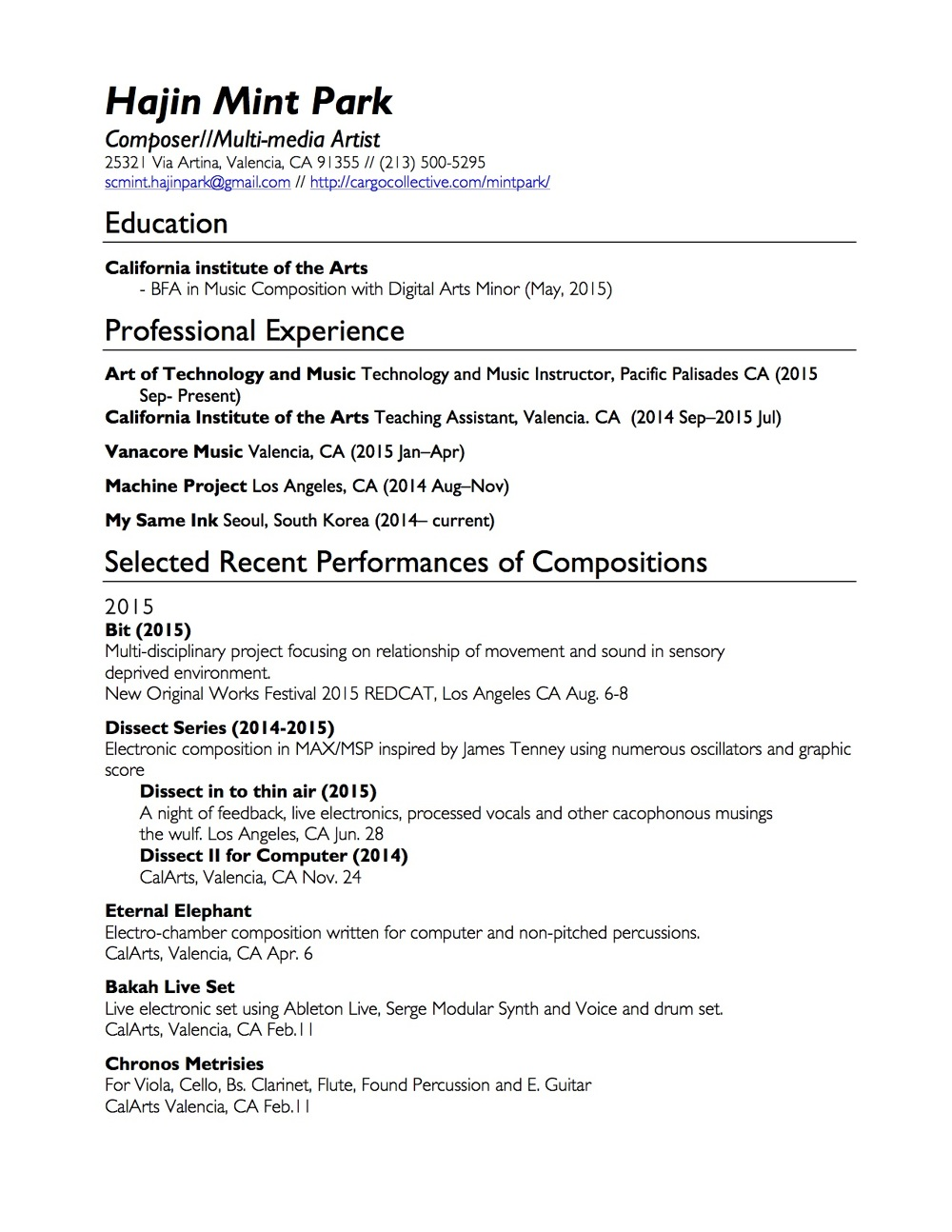 what is cv in resumes